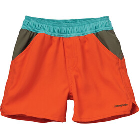 Patagonia Baby Forries Shorey Board Shorts Cusco Orange